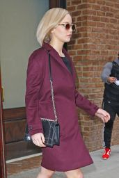 Jennifer Lawrence Leaving Her Hotel in New York City, 12/14/2015