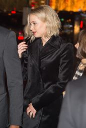 Jennifer Lawrence - Leaving the DGA Theater in New York City 12/12/2015