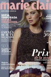 Jennifer Lawrence - Marie Claire Magazine Spain January 2016 Cover