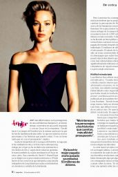 Jennifer Lawrence - Mujer Hoy Magazine December 2015 Issue