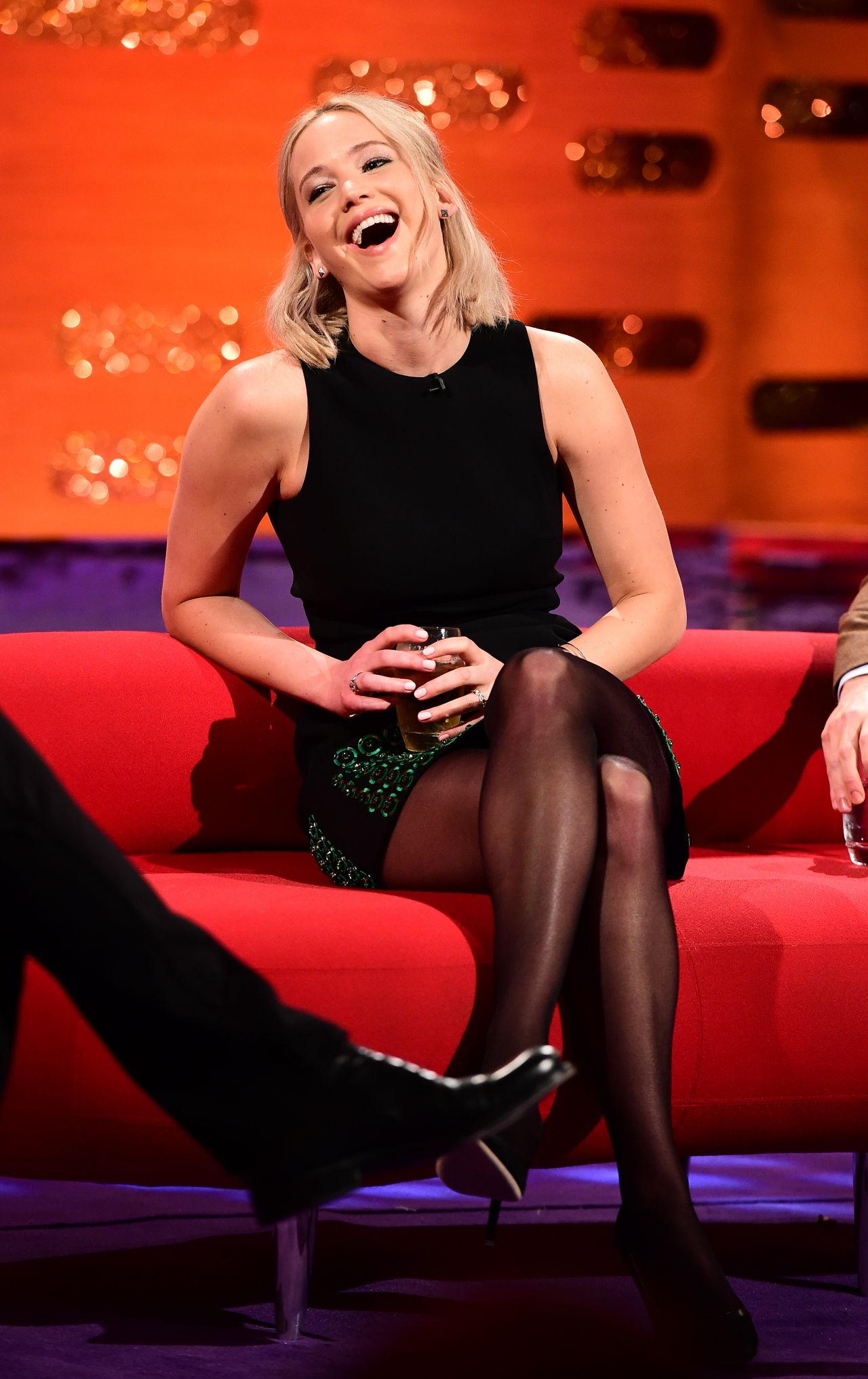 Jennifer Lawrence - The Graham Norton Show In London -1418