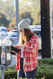 Jessica Biel Casual Style - Out in West Hollywood, December 2015