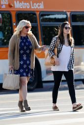 Jessica Biel - Shopping in LA, December 2015