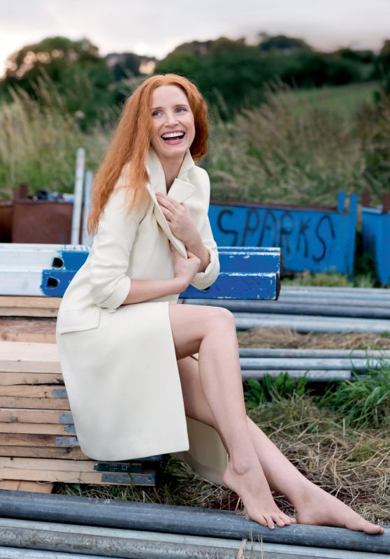 Jessica Chastain - Photoshoot for Vogue Magazine UK January 2016