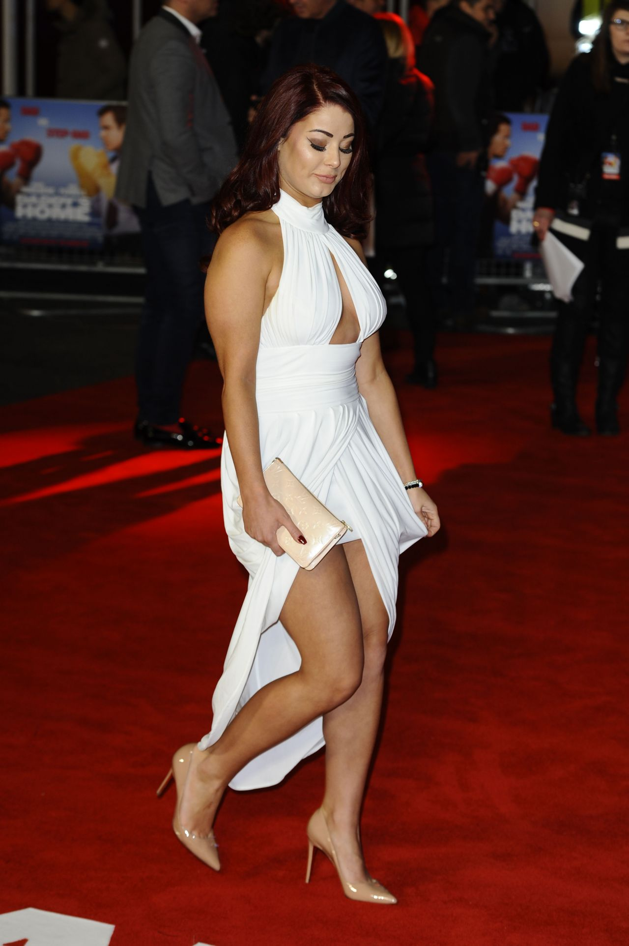 Jessica Hayes Daddy S Home Uk Film Premiere At Vue