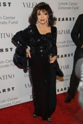 Joan Collins – 'An Evening Honoring Valentino' Gala in New York City, 12-7-2015