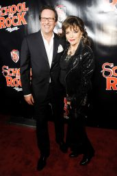 Joan Collins – School Of Rock Broadway Opening Night in New York, December 2015