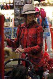 Jordana Brewster Shopping in Beverly Hills, December 2015
