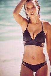 Josephine Skriver Bikini Pics – Victoria's Secret December 2015