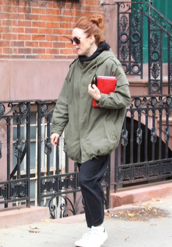 Julianne Moore - Out in NYC, December 2015