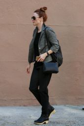 Julianne Moore - Out in West Village After Having Lunch at Cafe Cluny 12/22/2015