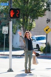 Juliette Lewis Casual Style - Out in West Hollywood 12/26/2015