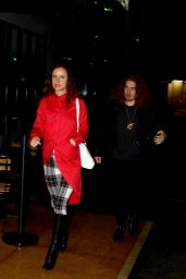 Juliette Lewis Leaves Cage the Elephant Live in Los Angeles, December 2015