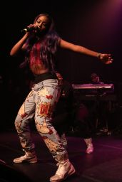 Justine Skye - Performs at Her Emotionally Unavailable Tour in New York, December 2015