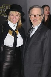 Kate Capshaw and Steven Spielberg – Star Wars: The Force Awakens Premiere in Hollywood