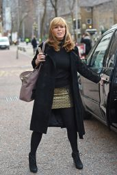 Kate Garraw - Outside The London Studios, 12/10/2015