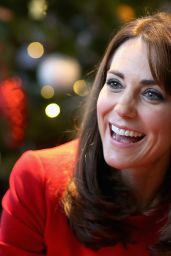 Kate Middleton - Anna Freud Centre Family School Christmas Party in London 12/15/2015