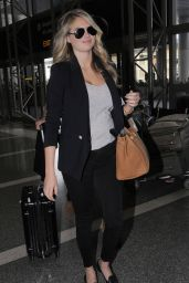 Kate Upton at LAX Airport, December 2015