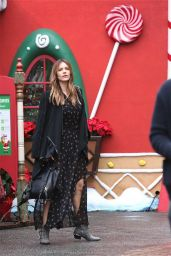 Katharine McPhee - Xmas House at The Grove  in Los Angeles, CA 12/23/2015