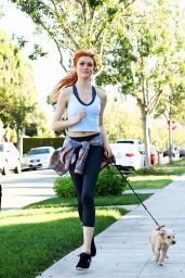 Katherine McNamara - Out in Los Angeles, December 2015