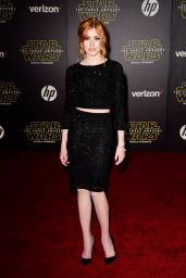 Katherine McNamara – Star Wars: The Force Awakens Premiere in Hollywood