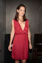 Katie Holmes at Beauty & Essex in New York City, December 2015