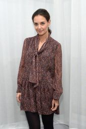 Katie Holmes - Promoting Her Alterna Haircare Line in New York City, 12/14/2015