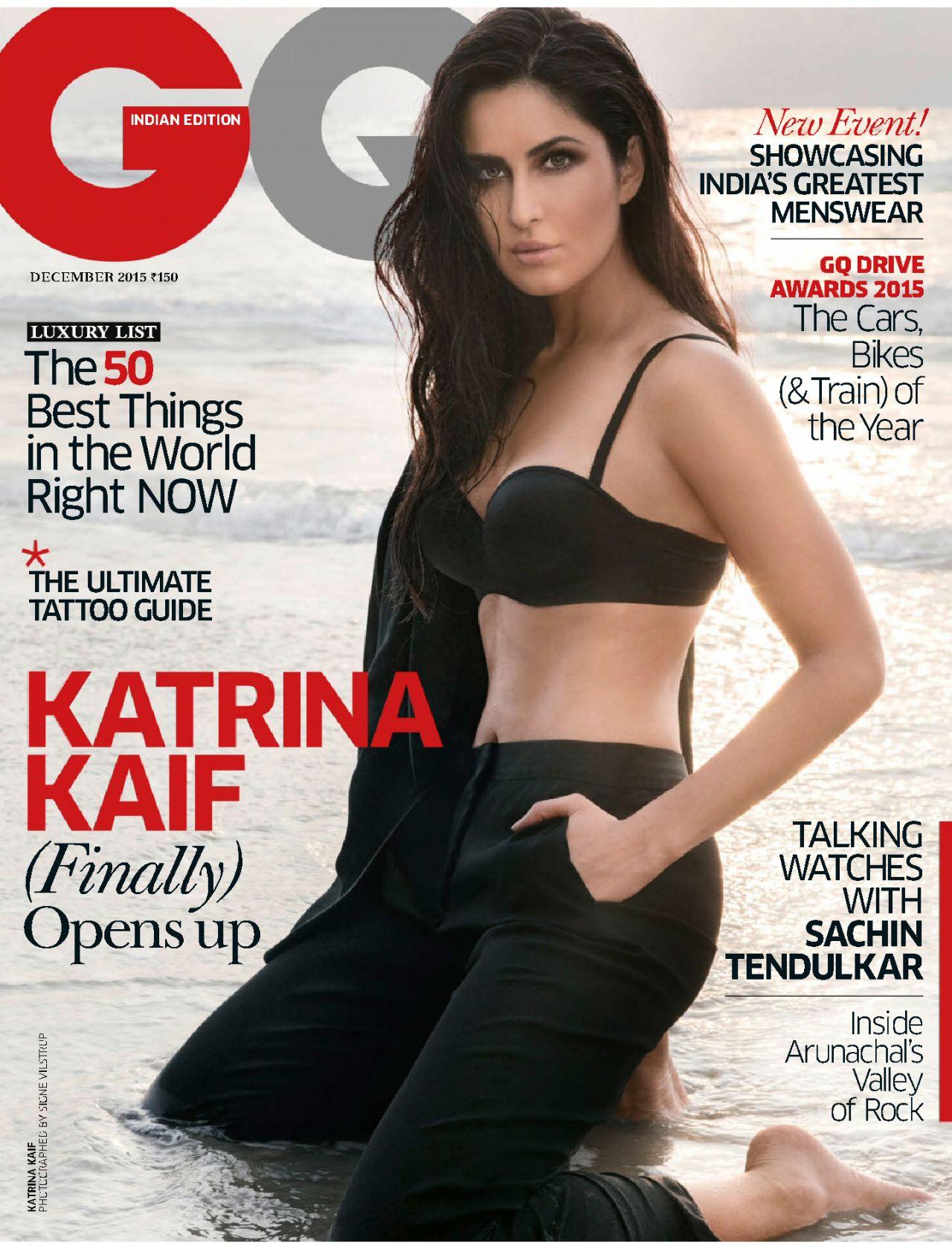 Katrina Kaif - Gq Magazine India December 2015 Issue-6941