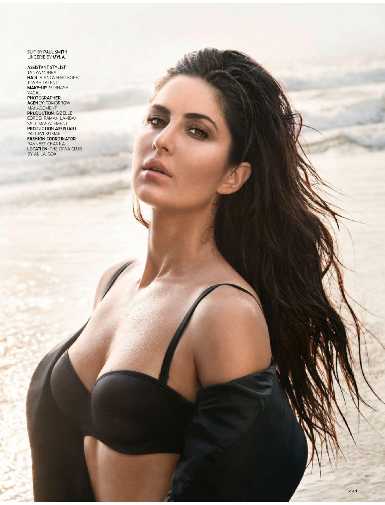 Katrina Kaif - Gq Magazine India, december 2015, številka-4135