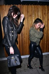 Kendall Jenner Night Out Style - Leaving Nice Guy
