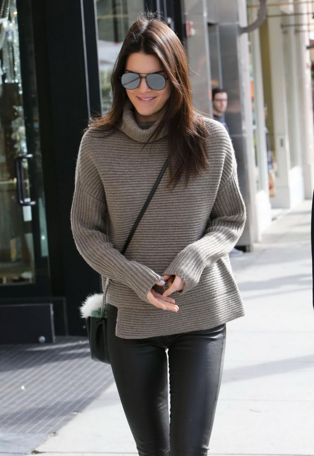 Kendall Jenner Street Fashion Out In Beverly Hills