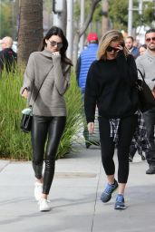 Kendall Jenner Street Fashion - Out in Beverly Hills, December 2015