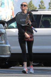 Kirsten Dunst Playing Tennis - Los Angeles - 12/21/2015