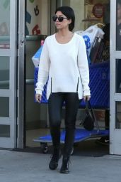 Kourtney Kardashian Casual Style - Christmas Shopping in Woodland Hills 12/24/2015