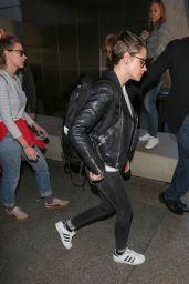Kristen Stewart at LAX in Los Angeles, CA 12/16/2015