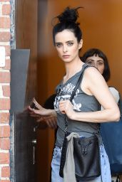 Krysten Ritter - Leaving a Studio in Hollywood, December 2015