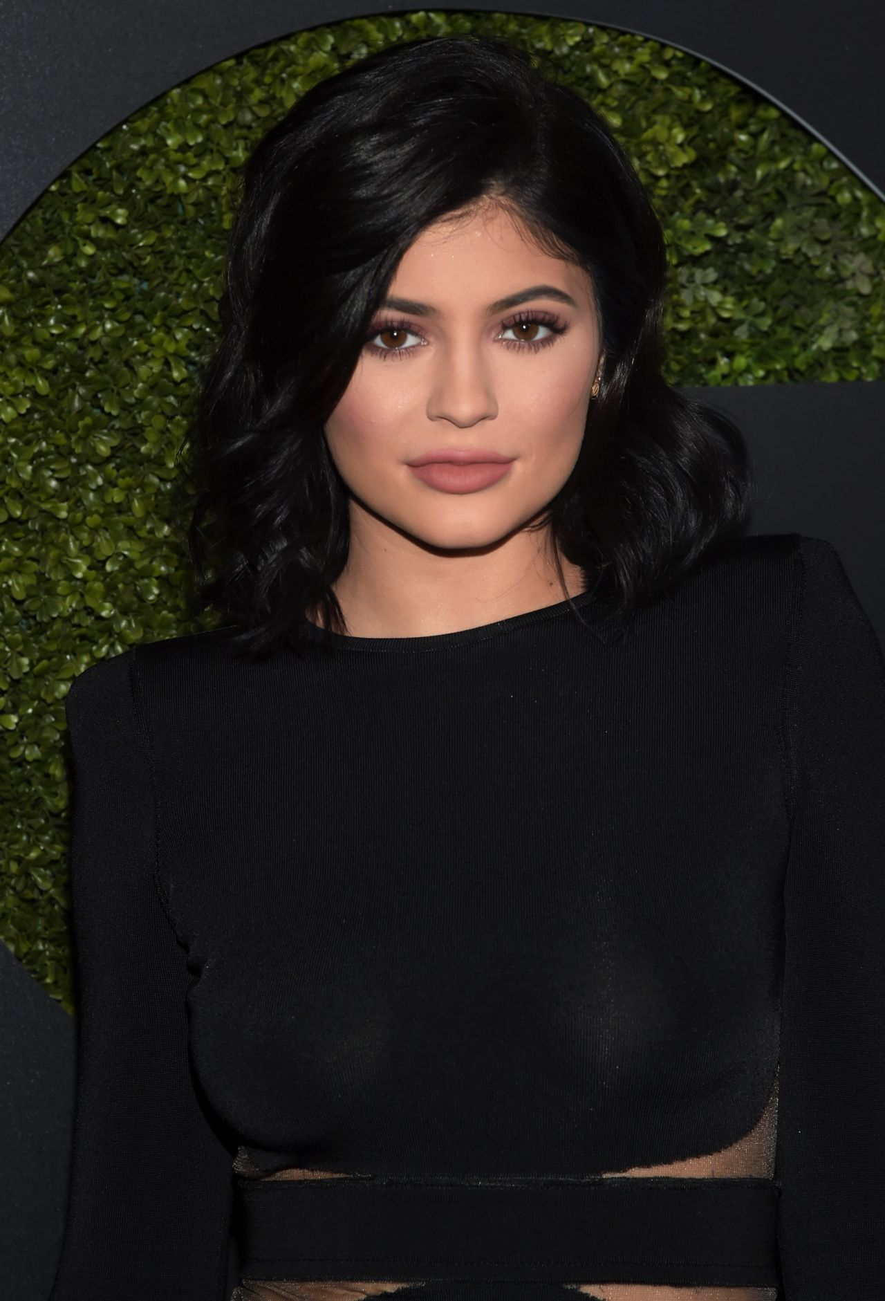 Kylie Jenner Arrives On The Red Carpet At Our Balmain X H: 2015 GQ Men Of The Year Party In Los Angeles