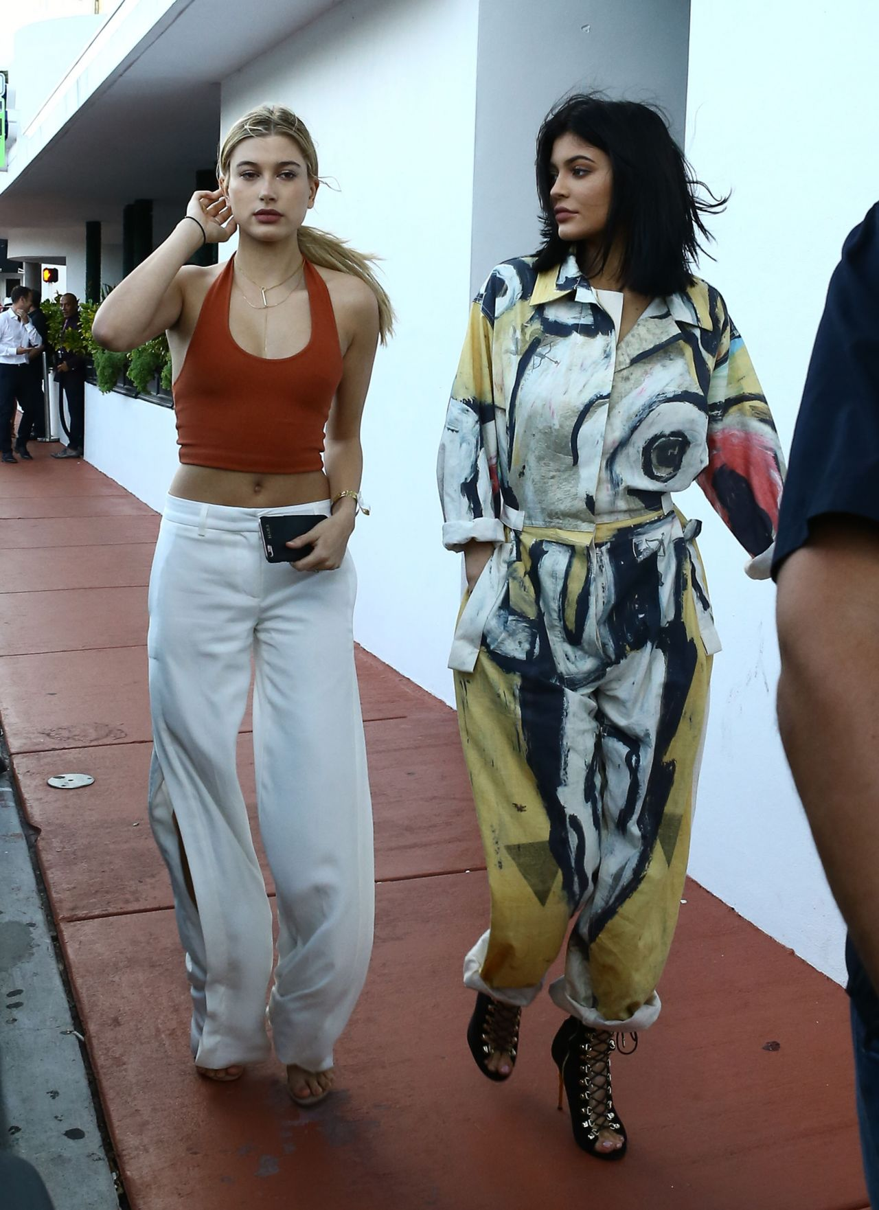 Kylie Jenner And Hailey Baldwin Shopping In Miami 12 6 2015