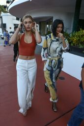 Kylie Jenner and Hailey Baldwin - Shopping in Miami 12-6-2015