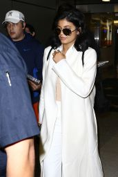 Kylie Jenner at Miami International Airport, December 2015