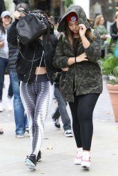 Kylie Jenner in Spandex - Calabasas, LA 12/21/2015