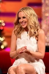 Kylie Minogue - Graham Norton Show at The London Studios 12/17/2015