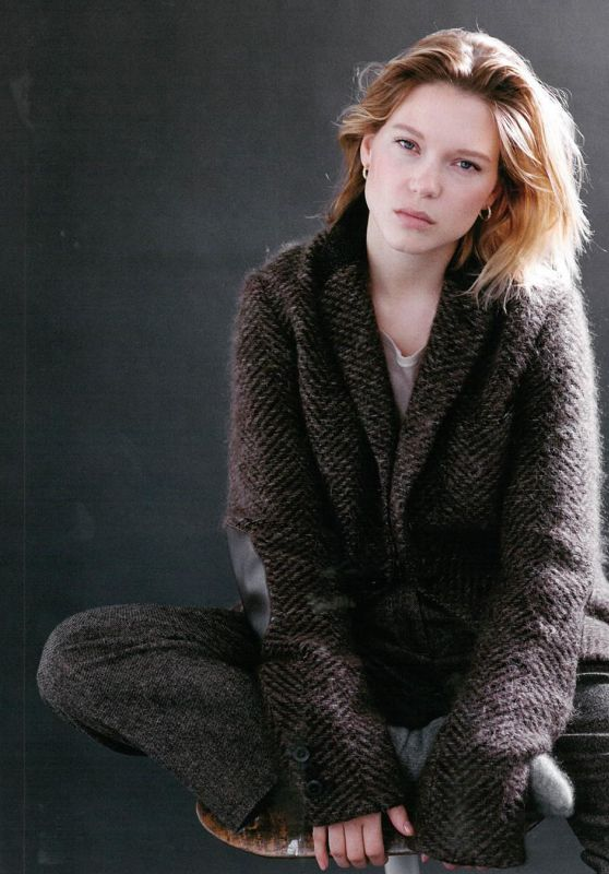Léa Seydoux - Hobo Magazine 2015 Issue and Photos
