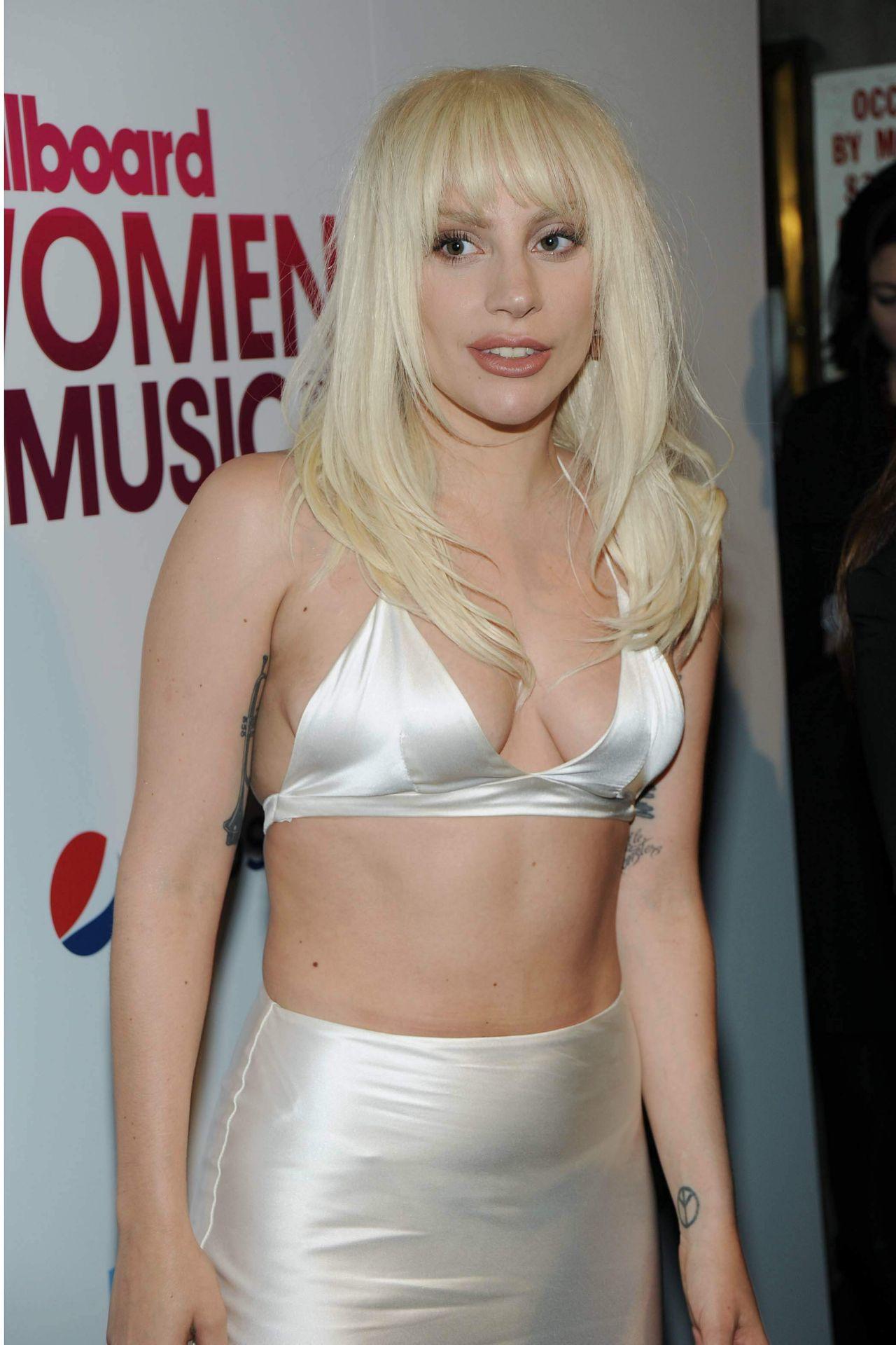 Lady Gaga 2015 Billboard Women In Music Event In New