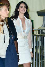 Lana Del Rey - Leaving The Weekend Concert in Los Angeles, 12/10/2015