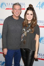 Laura Marano – T.J. Martell Foundation's 16th Annual New York Family Day in NYC 12/13/2015