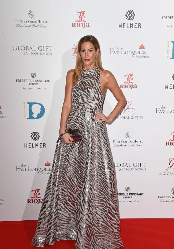 Laura Pradelska – 2015 Global Gift Gala at the Four Seasons Hotel London at Park Lane