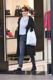 Lauren Cohan at The Grove in Los Angeles, December 2015