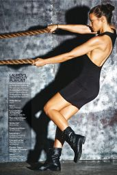 Lauren Cohan - Shape Magazine January/February 2016 Issue