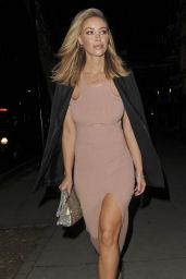Lauren Pope Is Stylish - Leaving her hotel in London, December 2015